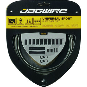 Jagwire Sport Universal Shift Cable Set for Shimano/SRAM/Campagnolo, grey